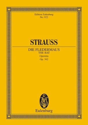 Die Fledermaus - Conducteur Johann (Fils) Strauss laflutedepan