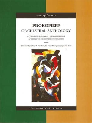 Orchestral Anthology - Score PROKOFIEV Partition laflutedepan