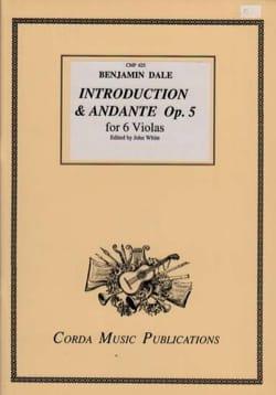 Introduction and Andante Opus 5 - 6 Altos Benjamin Dale laflutedepan