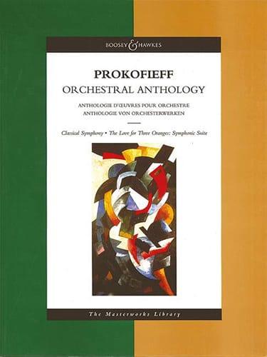 Orchestral Anthology - Score - PROKOFIEV - laflutedepan.com