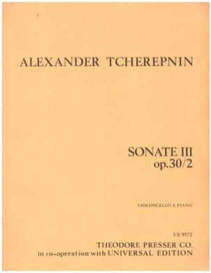 Sonate n° 3 op. 30/2 - Alexandre Tcherepnine - laflutedepan.com