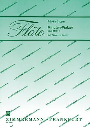 Minuten-Walzer Op. 64 Nr. 1 CHOPIN Partition Trios - laflutedepan