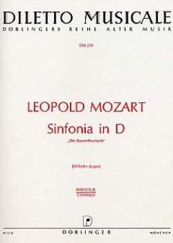 Sinfonia D-Dur - Partitur Leopold Mozart Partition laflutedepan