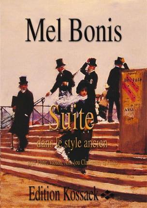 Suite dans le Style Ancien Op.127 N°1 Mel Bonis Partition laflutedepan