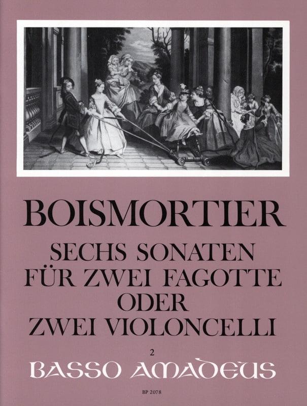 6 Sonates Opus 14 - BOISMORTIER - Partition - laflutedepan.com