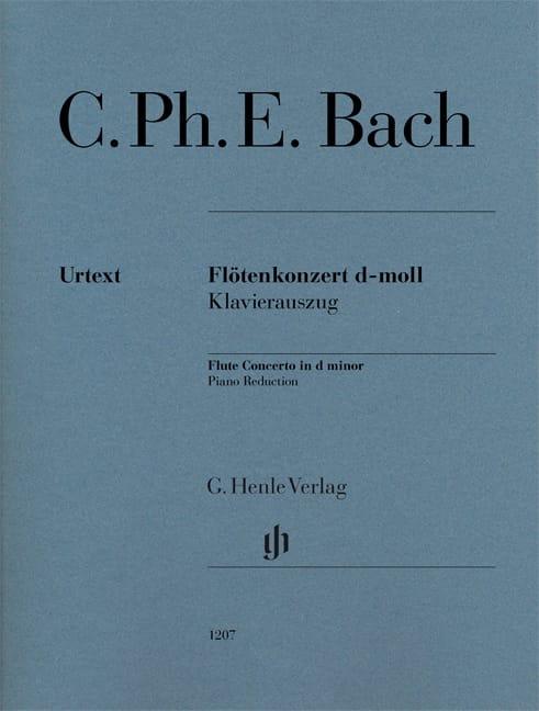 Concerto pour Flûte en ré mineur - Flûte et piano - laflutedepan.com