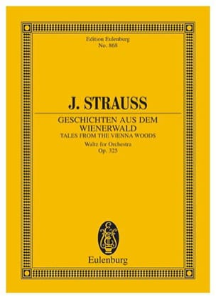 Geschichten aus dem Wienerwald Johann (Fils) Strauss laflutedepan
