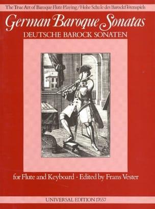German Baroque Sonatas - Flûte et Piano Partition laflutedepan