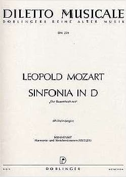 Sinfonia D-Dur - Stimmenset - Matériel complet laflutedepan