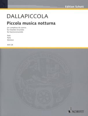 Piccola musica notturna Version de chambre - Stimmen laflutedepan