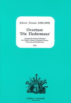 Johann (Fils) Strauss - Opening Die Fledermaus - Partition - di-arezzo.co.uk