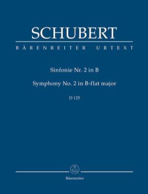 Symphonie N° 2, D 125 SCHUBERT Partition Petit format - laflutedepan