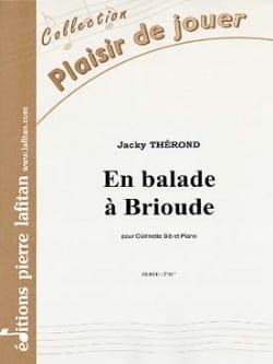 En Balade A Brioude Jacky Therond Partition Clarinette - laflutedepan