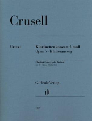 Concerto pour Clarinette, opus 5 - Clarinette et piano laflutedepan