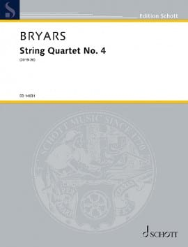 String Quartet No. 4 (2019-20) - Gavin Bryars - laflutedepan.com