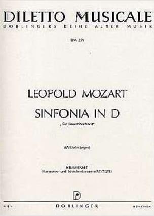 Sinfonia D-Dur - Stimmenset - Matériel complet - laflutedepan.com