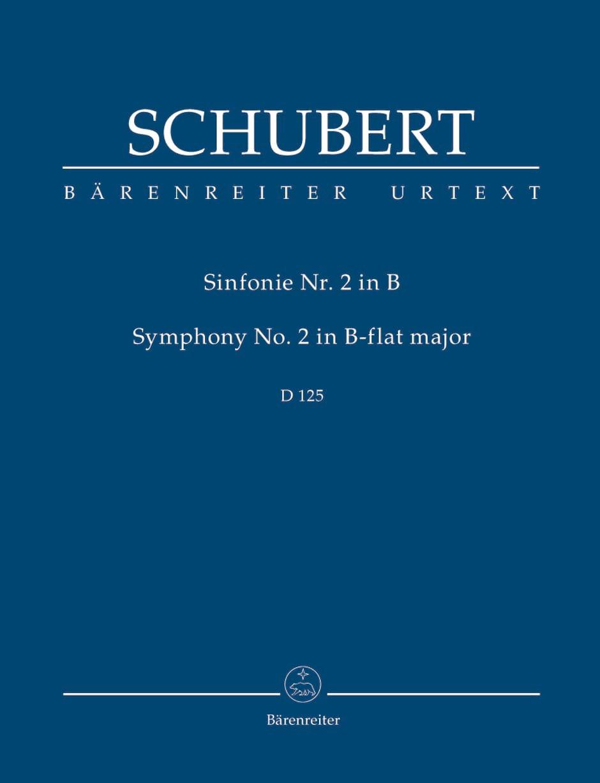 Symphonie N° 2, D 125 - SCHUBERT - Partition - laflutedepan.com