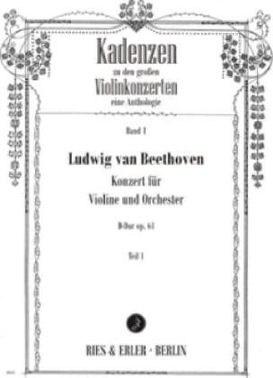 Cadences Concerto en Ré Maj. Op.61 de Beethoven - laflutedepan.com