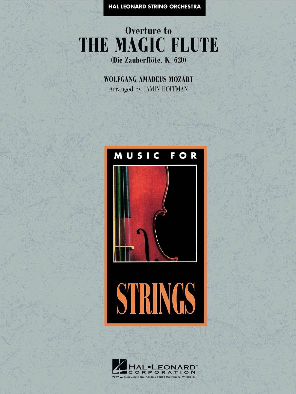 Overture To The Magic Flute - MOZART - Partition - laflutedepan.com