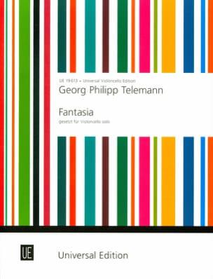 Fantasia TELEMANN Partition Violoncelle - laflutedepan