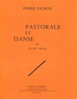 Pastorale et Danse Pierre Paubon Partition laflutedepan
