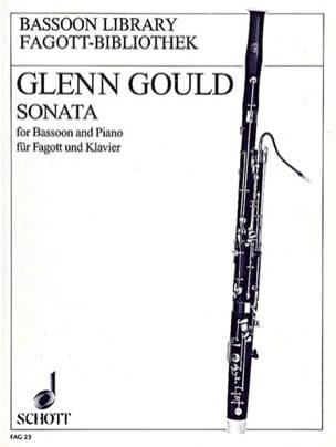 Sonata -basson Piano Glenn Gould Partition Basson - laflutedepan