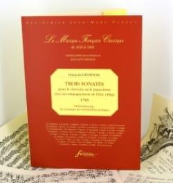 3 Sonates pour le clavecin ou piano-forte avec acc. de flûte obligé laflutedepan