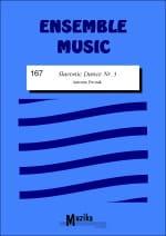 Slavonic dance n° 3 -Ensemble DVORAK Partition laflutedepan
