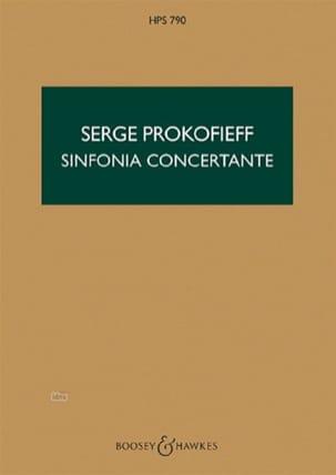 Serge Prokofiev - Concert Symphony op. 125 - Score - Partition - di-arezzo.co.uk