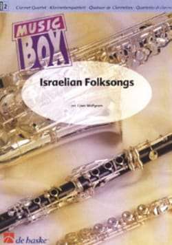 Israelian Folksongs -Clarinet quartet Coen Wolfgram laflutedepan