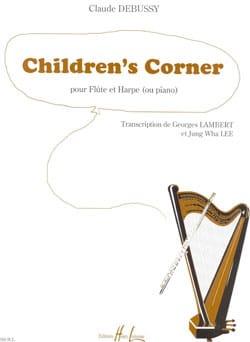Children's Corner - Flûte et harpe piano DEBUSSY laflutedepan