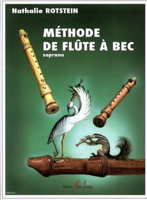 Méthode de Flûte à Bec Soprano Nathalie Rotstein laflutedepan