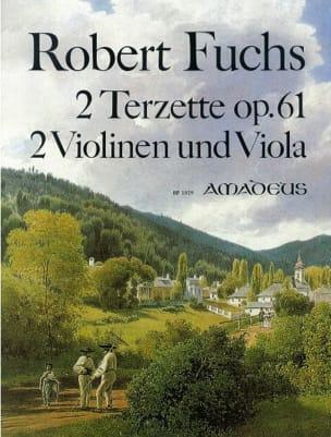2 Terzets op.61 Robert Fuchs Partition Trios - laflutedepan