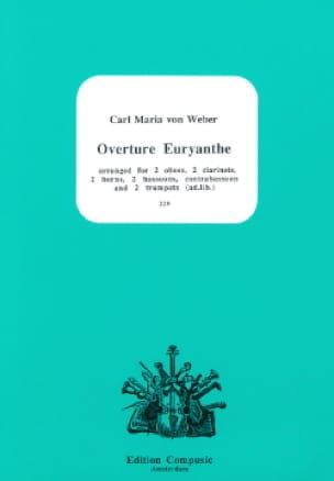 Euryanthe, Ouverture - Nonette A Vents - laflutedepan.com