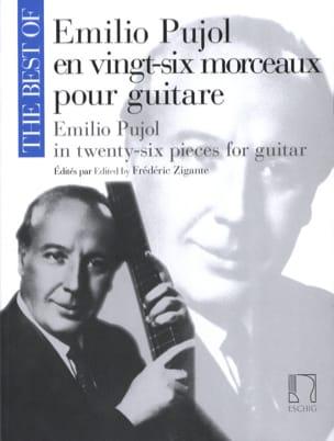 Emilio Pujol en Vingt-Six Morceaux pour Guitare laflutedepan