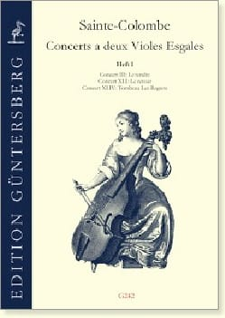 Concerts à 2 violes de gambe - Volume 2 laflutedepan