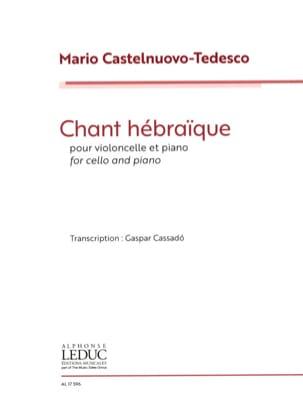 Chant Hébraïque - Violoncelle et Piano - laflutedepan.com