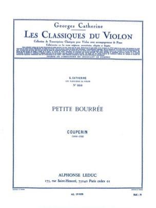 Petite bourrée Couperin François / Catherine Georges laflutedepan