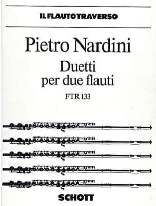 Duetti Pietro Nardini Partition Flûte traversière - laflutedepan