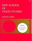 New school of violin studies - Volume 5 Adam Carse laflutedepan