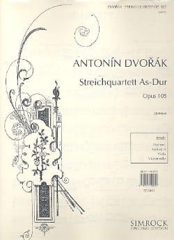 Quatuor à cordes op. 105 Lab majeur - Parties - laflutedepan.com