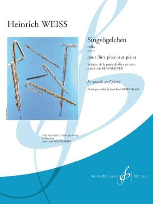 Singvögelchen, Polka opus 55 - Heinrich Weiss - laflutedepan.com
