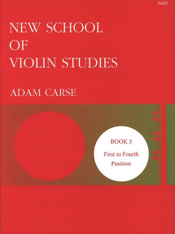 New school of violin studies - Volume 5 - laflutedepan.com