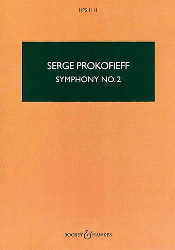 Symphonie n° 2 - Score - PROKOFIEV - Partition - laflutedepan.com