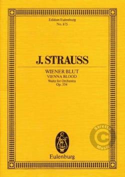 Wiener Blut, op. 354 Johann (Fils) Strauss Partition laflutedepan