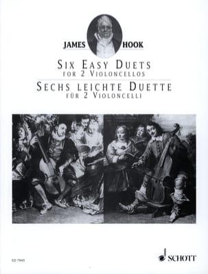 6 Leichte Duette Op. 58 James Hook Partition laflutedepan
