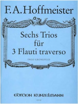 6 Trios - 3 Flöten HOFFMEISTER Partition laflutedepan