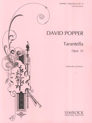 Tarantella op. 33 David Popper Partition Violoncelle - laflutedepan