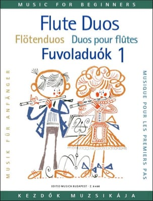 Flute duos for beginners - Volume 1 - Partition - laflutedepan.com