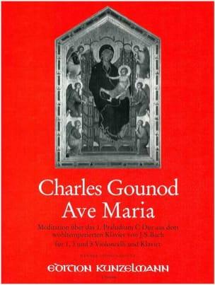 Ave Maria - VioloncelleS Piano GOUNOD Partition laflutedepan
